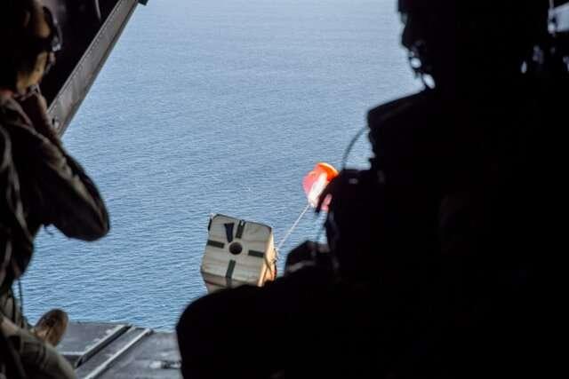 Semper floats! Marines use sensor buoys to better understand ocean battlespace