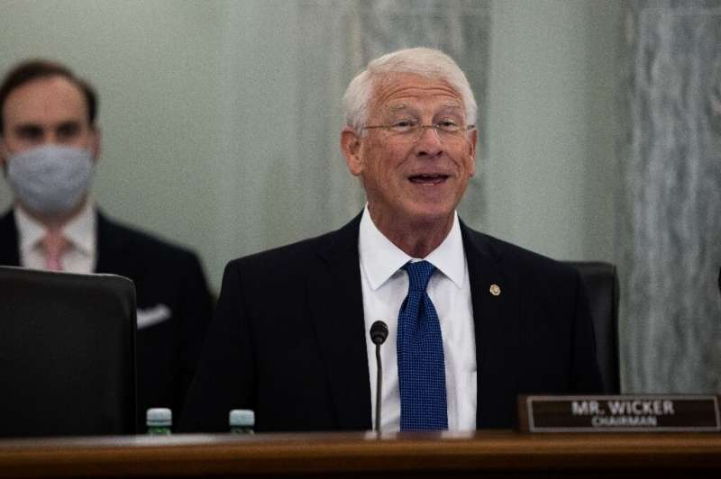 Senator Roger Wicker was to chair a hearing with CEOs of Google, Twitter and Facebook examining a law which shields online servi
