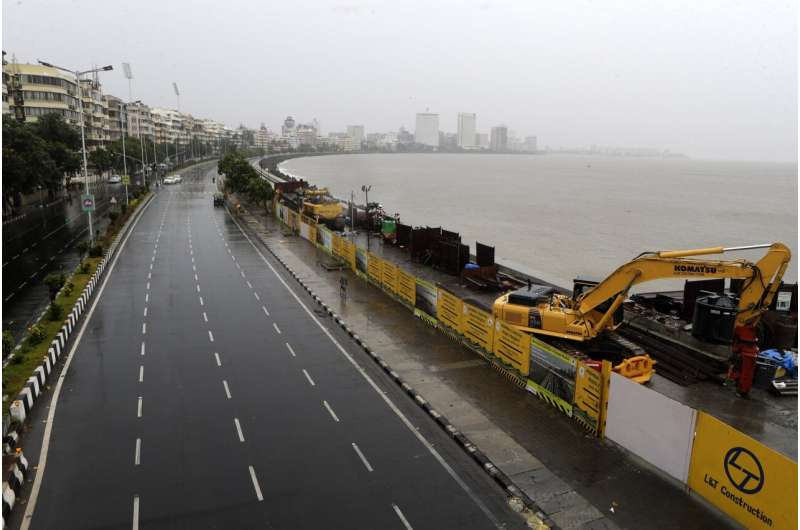 Severe cyclone approaches India's financial capital Mumbai