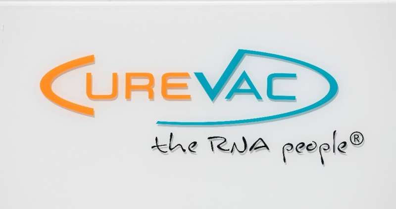 Shares of biotech company CureVac closed up nearly 250 percent in its first day of trading on the Nasdaq