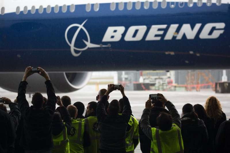 Shares of Boeing tumbled as the company reported dozens of plane cancelations as a clouded travel outlook due to coronavirus add