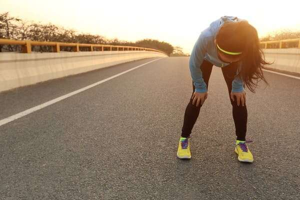 Should I stop running if my knee hurts?