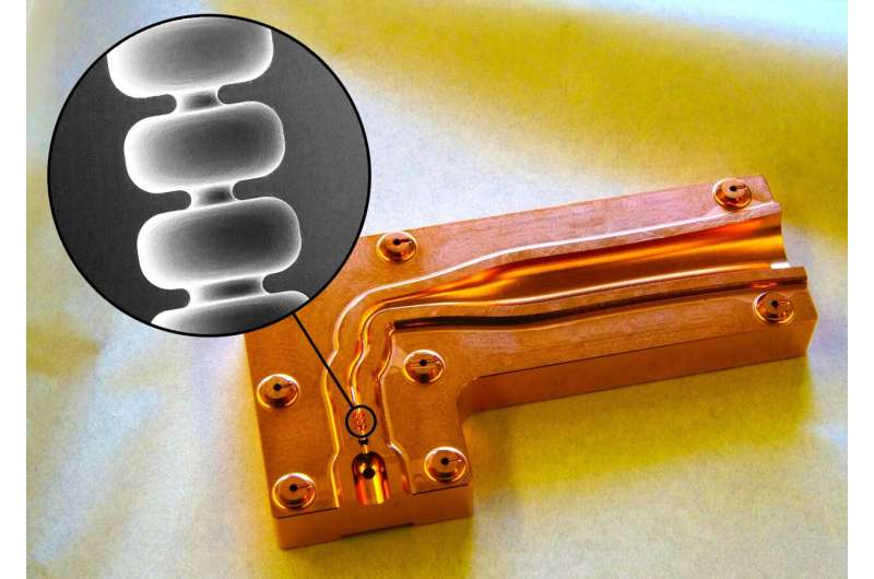SLAC invention could make particle accelerators 10 times smaller