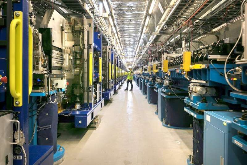 SLAC's upgraded X-ray laser facility produces first light
