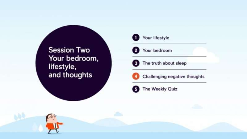 Sleepio might be just what the professor ordered