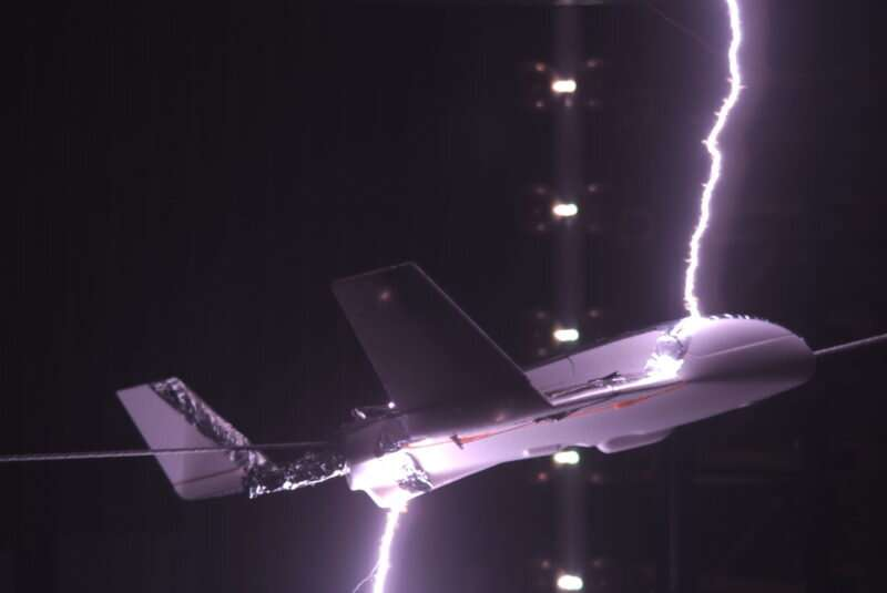 Small electrical charges could help airplanes avoid lightning strikes