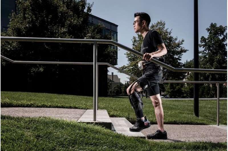 Soft robotic exosuit makes stroke survivors walk faster and farther