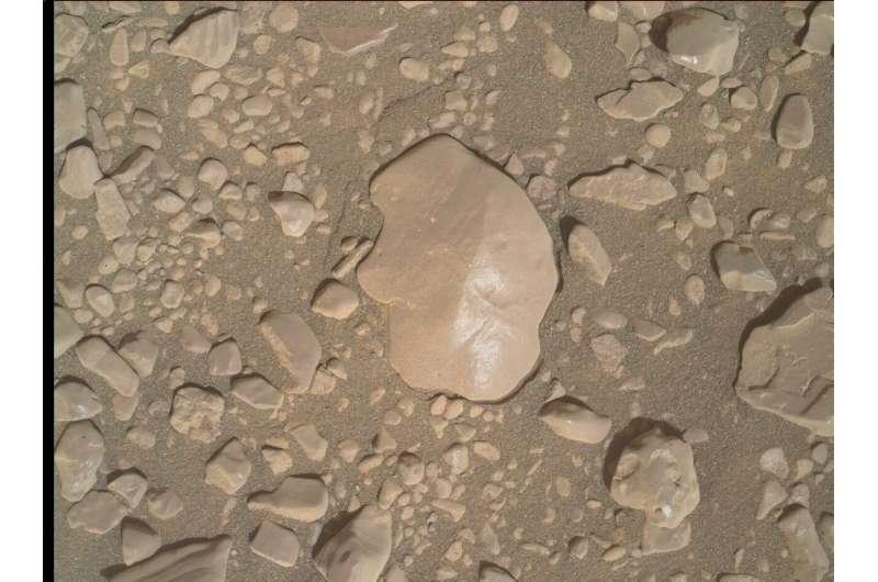 Sol 2931: Mars Hand Lens Imager (MAHLI)