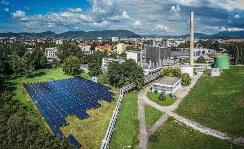 Solar assisted heating networks reduce environmental impact and energy consumption