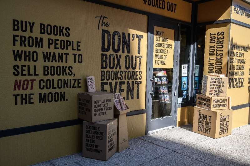 Solid State Books, an independent bookstore in Washington DC