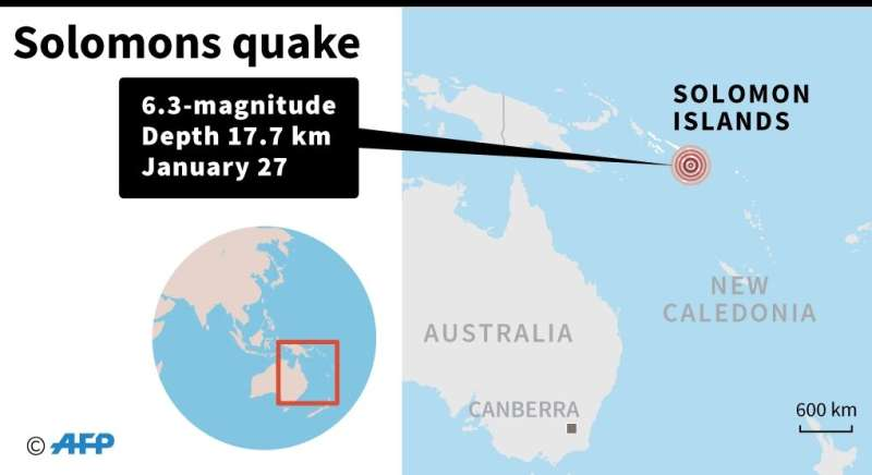 Solomon Islands quake