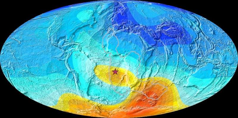 South Atlantic anomalies existed 8 - 11 million years ago