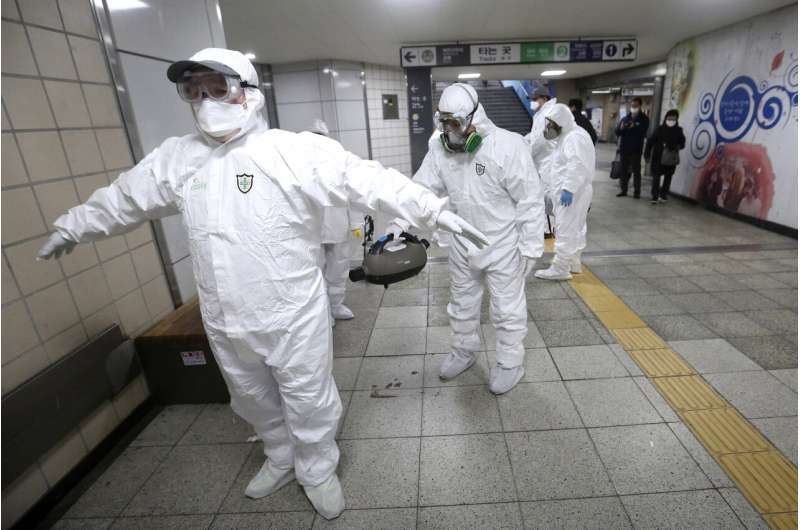 South Korea becomes newest front in shifting virus outbreak