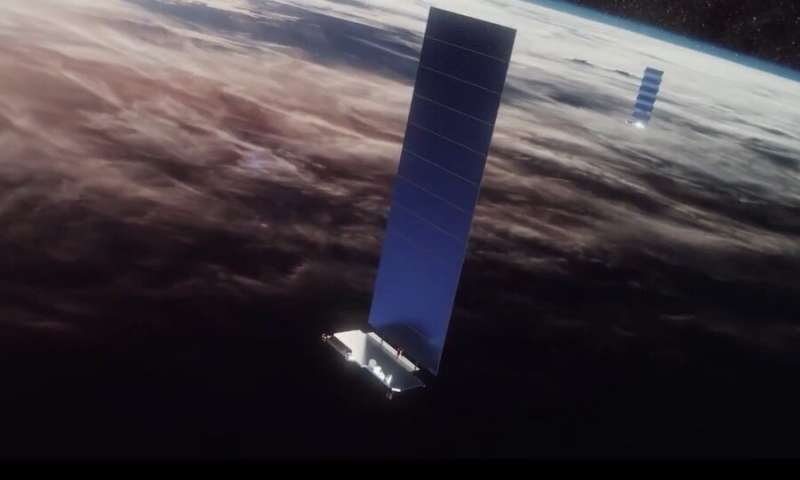 SpaceX Describes Exactly How They're Planning to Make Starlink Satellites Less Visible From Earth