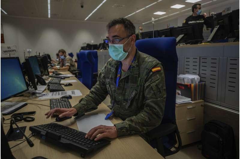 Spain's army predicts 2 more waves of coronavirus