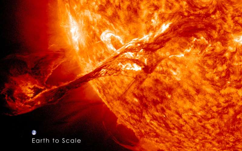 Speed of space storms key to protecting astronauts and satellites from radiation
