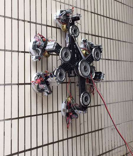 Spider-Man-style robotic graspers defy gravity