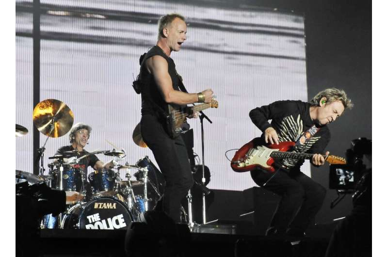 Spotify also noted a rise in the streaming of The Police hit 'Don't Stand so Close to Me'