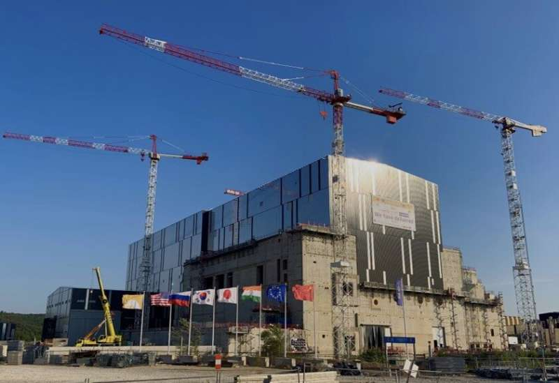 Start of ITER assembly paves way for fusion energy era