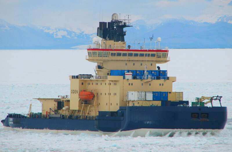 Student researchers make dismaying find in the Arctic Ocean