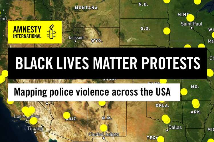 Students' expertise helps map 11 days, 125 acts of U.S. police violence