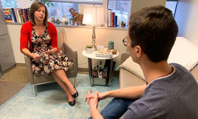 Study finds more mental heath visits decreases risk of suicide among youths