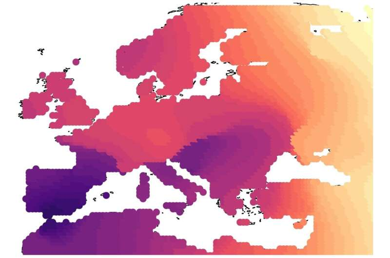 Study offers new insight into the impact of ancient migrations on the European landscape