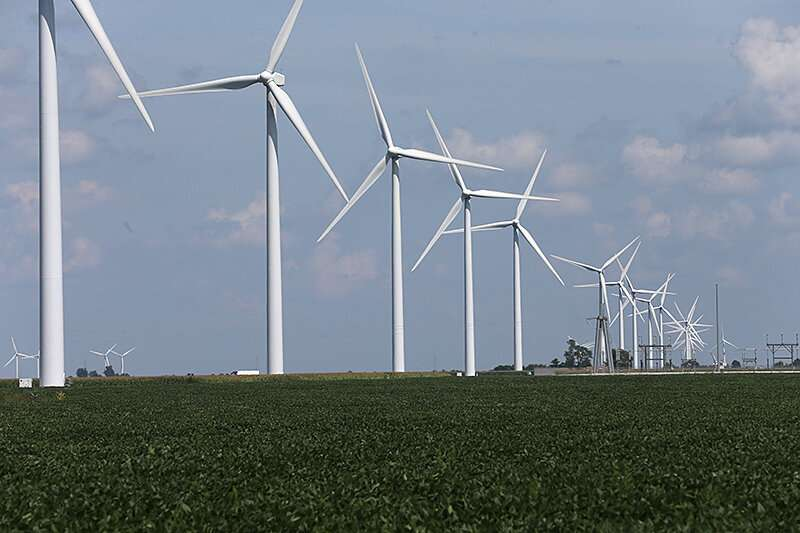 Study reviews impact of wind energy on local Indiana communities