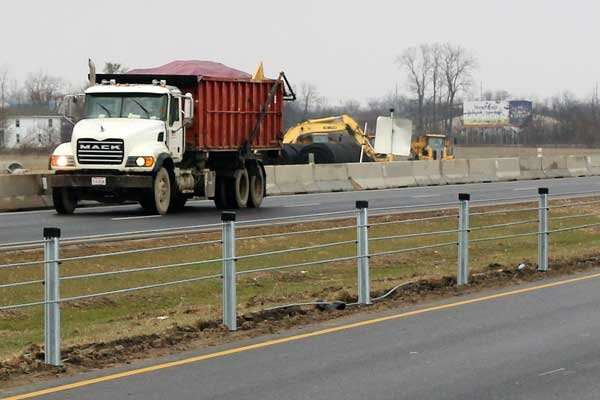Study shows Ohio freeway median cable barriers stop vehicles from crashing into oncoming traffic