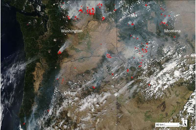 Study synthesizes what climate change means for Northwest wildfires
