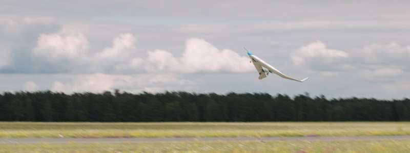 Successful maiden flight for energy-efficient Flying-V