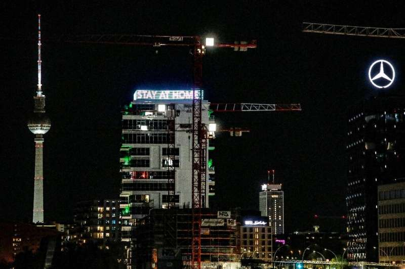 Sundown could mean bright lights must go out in future for German cities like capital Berlin.