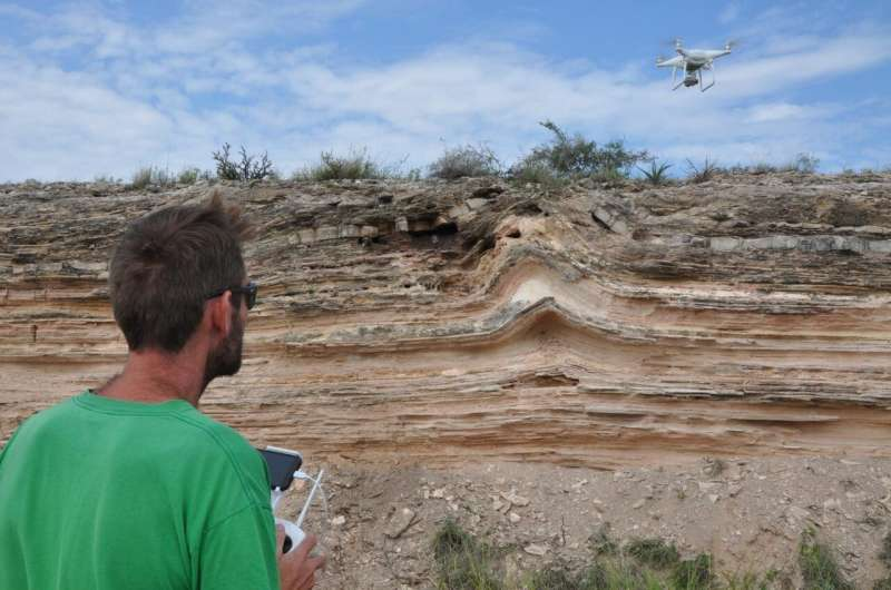 SwRI adds drone-based photogrammetry to geologic research services