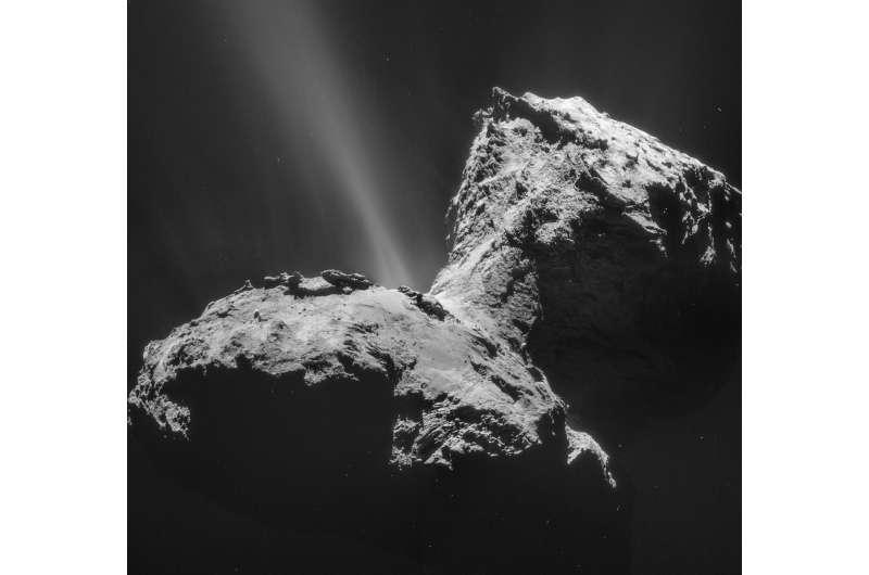 SwRI instruments aboard Rosetta help detect unexpected ultraviolet aurora at a comet