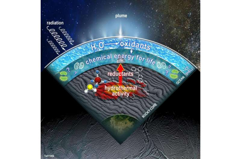 SwRI models point to a potentially diverse metabolic menu at Enceladus