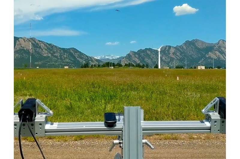System provides clearer picture of avian activity around wind turbines