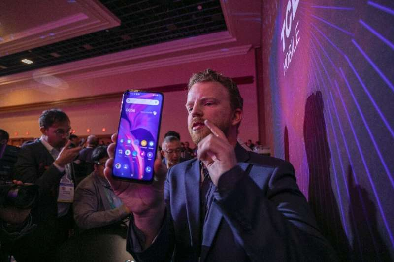 TCL, a large Chinese electronics firm, unveiled its 5G smartphone at the 2020 Consumer Electronics Show