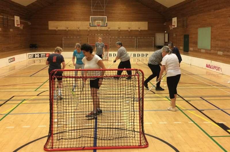 Team sport lowers blood pressure in postmenopausal women