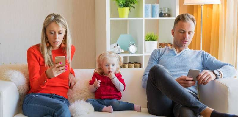 'Technoference': why we should be worried about parents' screen time