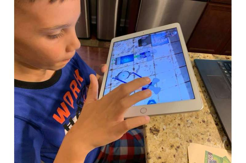 Technology brings collaborative STEM learning to pandemic-isolated students