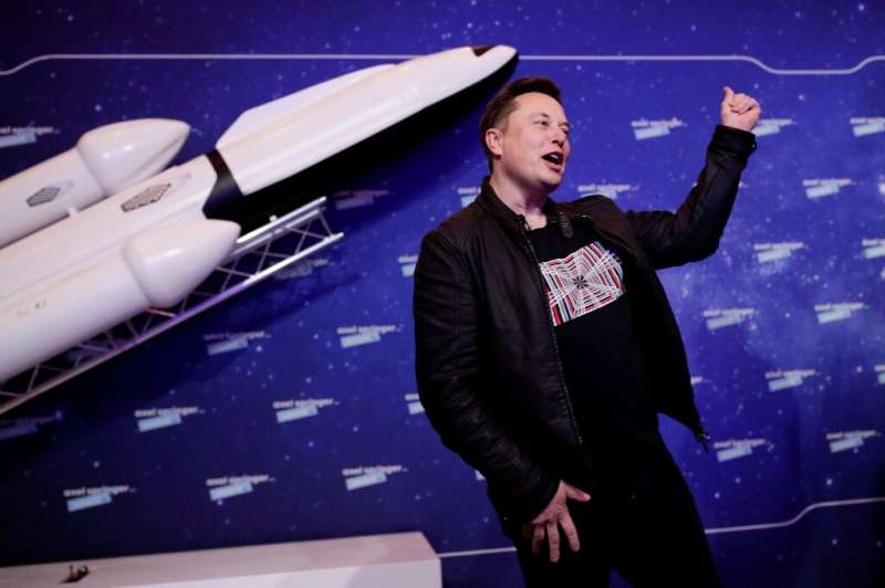 Tesla and SpaceX boss Elon Musk hopes to be able to one day launch several space ships to Mars