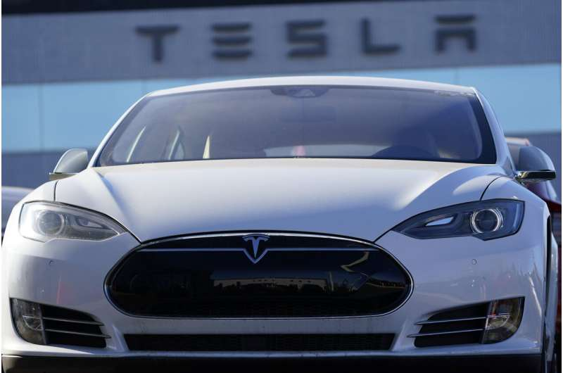 Tesla will be added to the benchmark S&P 500 index Dec. 21