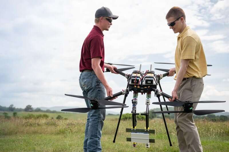 Testing shows drones can use autonomous technology to dodge other air traffic