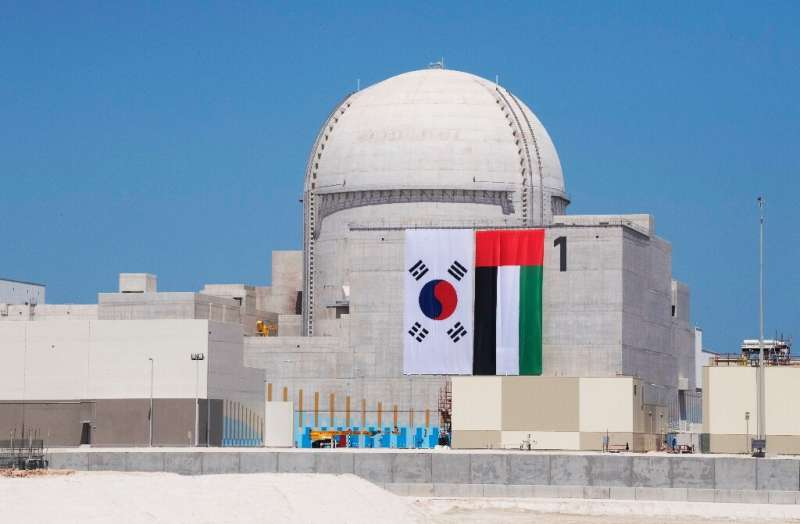 The Arab world's first nuclear power plant is being built by a South Korean-led consortium in a deal worth over $20 billion