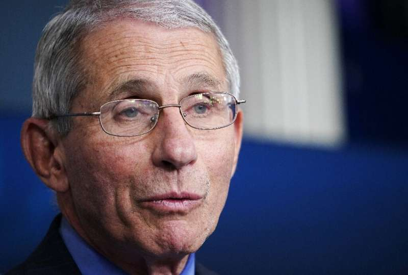 The bespectacled Anthony Fauci is one of President Donald Trump's point people on the coronavirus crisis—and has become somethin