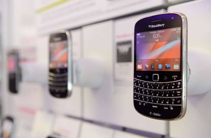 The Blackberry's physical keyboard could be on its way back