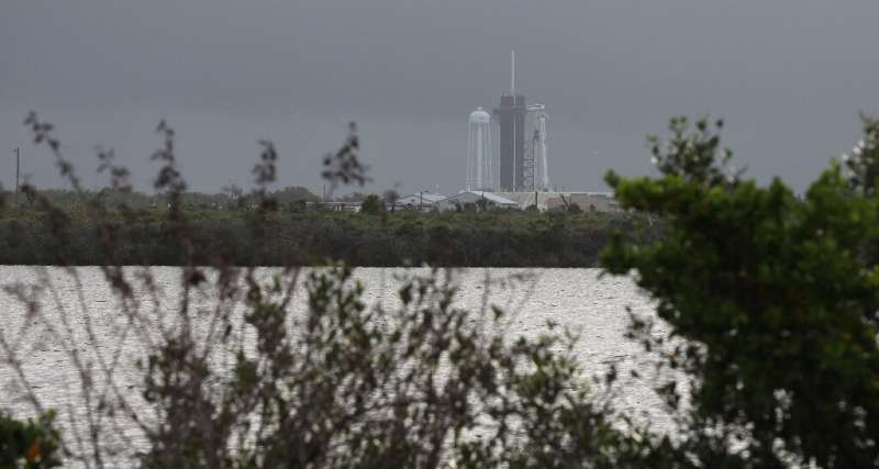 The chances of there being favorable weather for the launch was put at 60 percent, according to NASA