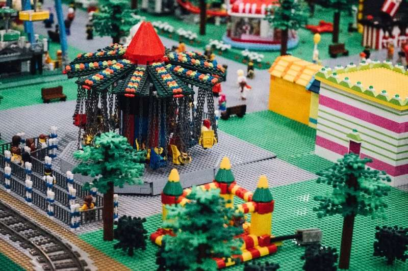 The company estimates that 96 percent of consumers either hold on to their Lego kits or pass them on