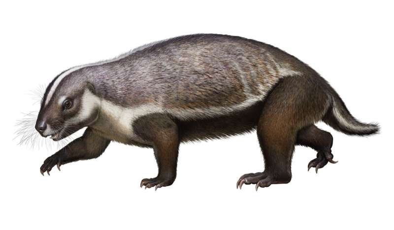 The 'crazy beast' that lived among the dinosaurs