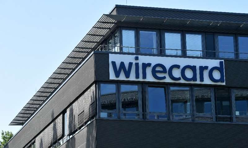 The headquarters of scandal-hit German payments provider Wirecard in Aschheim, near Munich